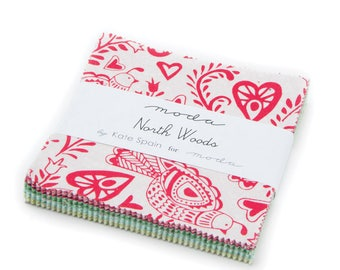 Moda North Woods Charm Pack by Kate Spain