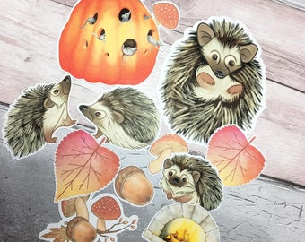 50 Pieces Small Autumn/Fall Ephemera