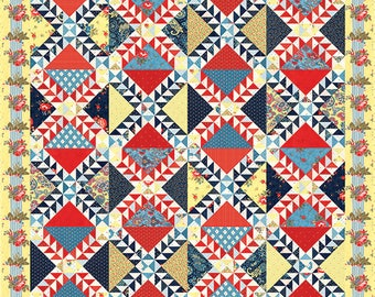 Ann's Arbor - Lady of Lake Superior Quilt Pattern my Minick & Simpson