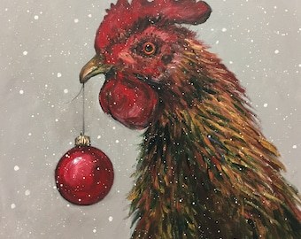 Christmas Rooster