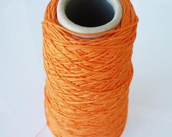 8 m with orange cotton thread for friendship bracelet