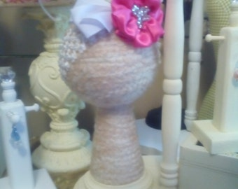 Child Boutique Headband display Craft show design room decor infant hat stand girl gift