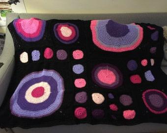 Circles in Squares Blanket