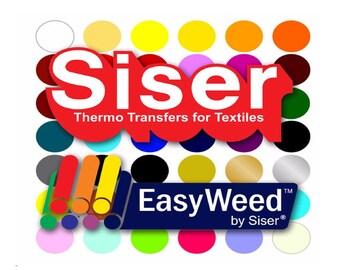Siser EasyWeed Heat Transfer Vinyl. HTV. Siser. Iron On Vinyl. Heat Vinyl. Shirts. By the Sheet. Vinyl. Easy Weed. T-Shirt Vinyl. Craft.