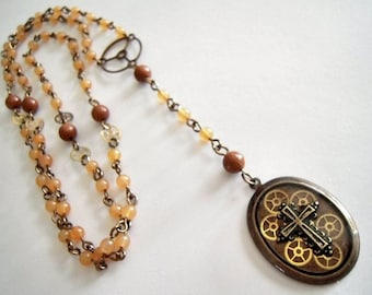 Steampunk Rosary
