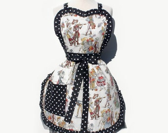 Catrinas Day of the Dead Apron