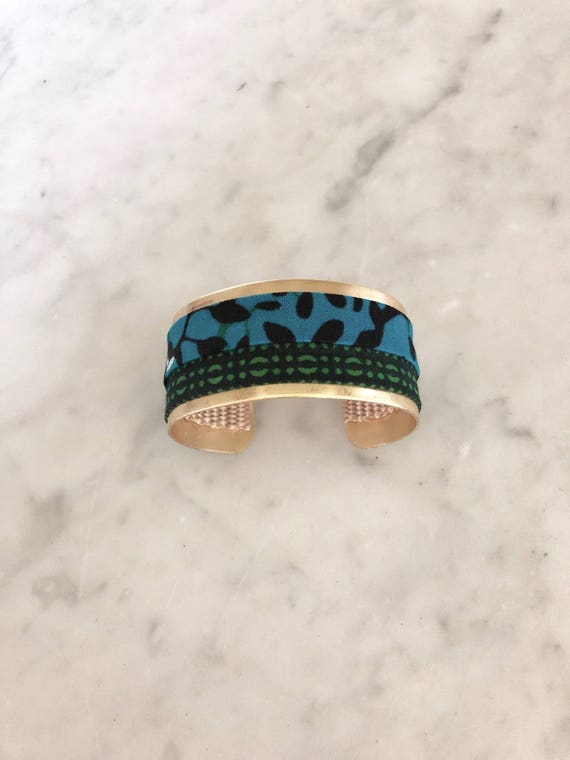 Lwala Cuff - blue collection