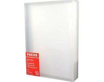Fujfilm Instax Wide 200 210 300 Film Holder Photo Album Translucent White