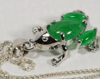 Jade Pendant Sterling Silver Jade Necklace Sterling Silver Jewelry Jade Jewelry