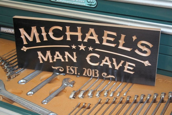 Man Cave Decorative Signs : Stone man cave decorative plaques signs ebay