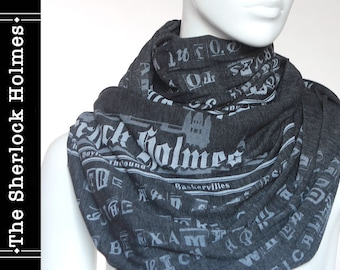 The Sherlock Holmes Book Scarf