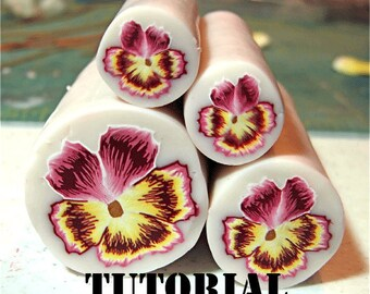 Tutorial - Polymer Clay Pansy Cane
