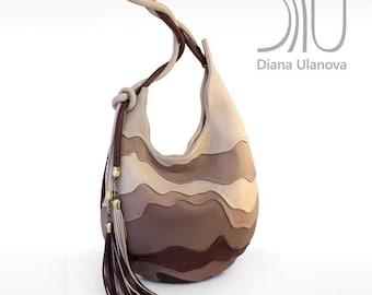 LEATHER Hobo BAG | Brown Hobo Bag | Leather Hobo Bags | Brown Hobo Bag Leather | Hobo Bags | Leather Hobo Bag Hive