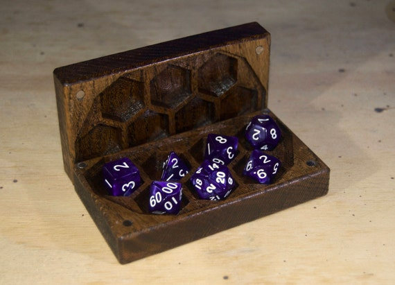 Mini Dice Box For Dnd Dungeons And Dragons Rpg Dice Case