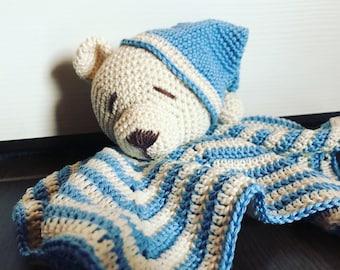 Doudou sleepy teddy bear, baby sleeping cover