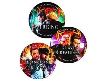 Ian Dex Supernatural Thrillers/John P. Logsdon/Series Book Covers