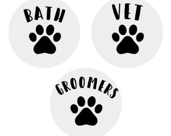Dog Care Planner Stickers