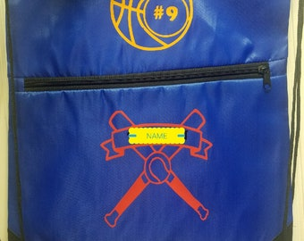 Personalized Draw String Sports Bag