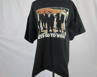Vintage 1991 The BLUES BROTHERS Shirt Dog Eat Dog Productions Lionsgate Blues Bros