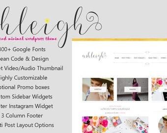 Free Installation - Wordpress blog template, Lifestyle Fashion Theme, Wordpress Ecommerce Theme Responsive Blog Theme Design - Ashleigh