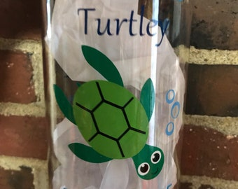 you should turtley drink more water , water bottle , water tracker , work out , exercise