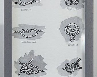 Rope Knots Art Print
