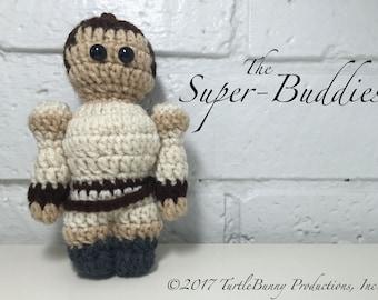 Rey Pop Culture Inspired Nerd Crochet