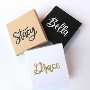 Personalized Gift Box | Christmas Jewelry Box | Bridesmaid Jewelry Box | Bridesmaid Proposal | Custom Gift Box | Bridesmaid Gift Boxes