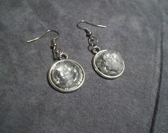 Crystal Resin Earrings