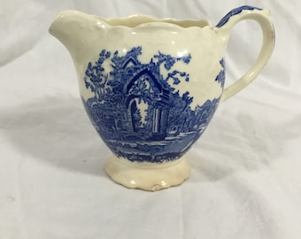 Blue Wedgewood Cream Pitcher