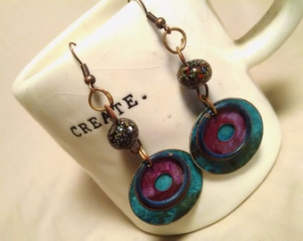 Dangle EarRings....Gypsy Paradise...FREE Shipping in the USA