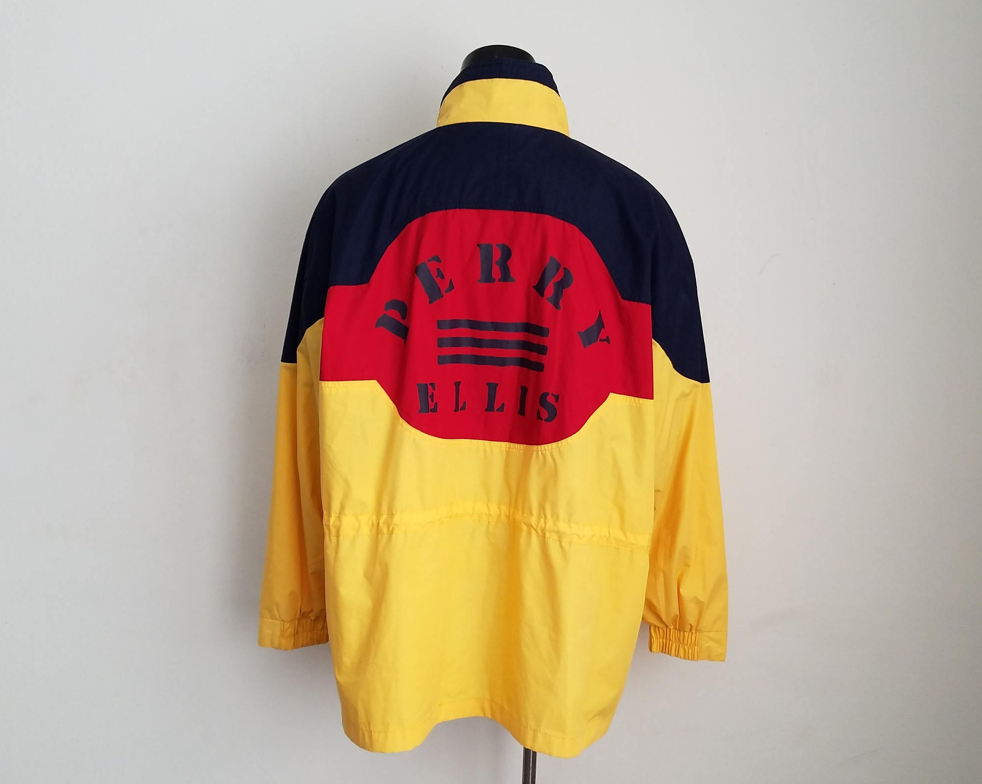 7cd5869ed0 Vintage Perry Ellis Jacket Sz. XXL