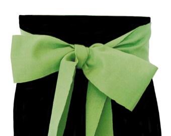Olivine Green Sash SA43 - LARP Belt - Boho Chic Fashion - Guatemalan Fabric - Green Sash Belt - Ethnic Sash - Renaissance Gypsy Clothing