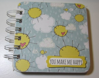 You Make Me Happy Clouds Password Book