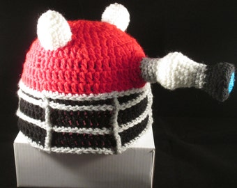 Dalek hat, prices vary, Made to order only!