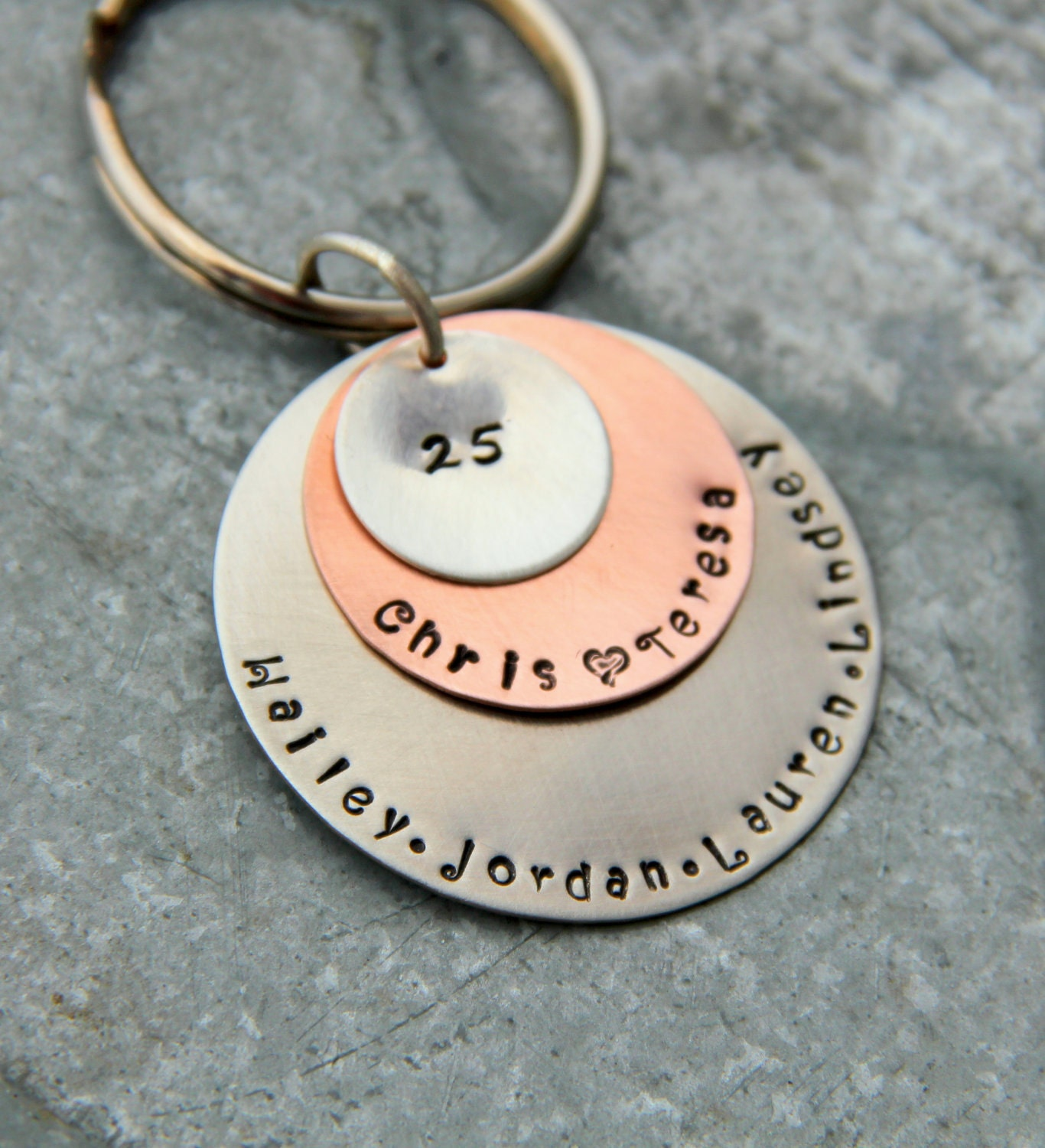 Silver Wedding Anniversary Gifts For Husband: Anniversary Gift For Husband Wife 25 Years Anniversary Key