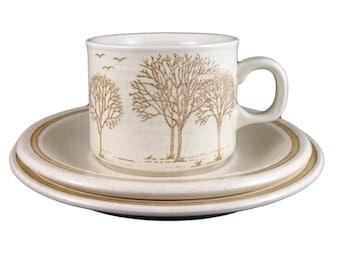 Churchill Homespun 'Trees' Cup Trio