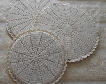 Hand Crocheted Hot Pads