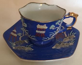 Occupied Japan Tea Cup and Saucer