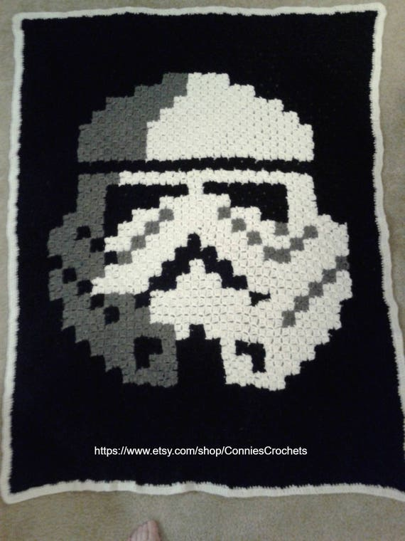 Digital unique star wars stormtrooper c2c blanket graph pattern and questo un file digitale publicscrutiny Gallery