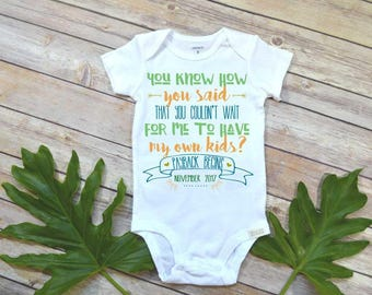 Pregnancy Reveal, Payback Begins, Pregnancy Announcement, Baby Reveal, New Grandparents, Baby Announcement to Parents, Baby Due, Reveal Prop