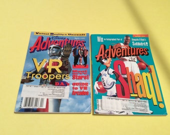 Vintage Disney Adventures Issues March and April 1995