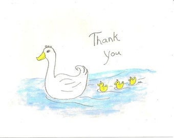 Thank You cards -  box of 12 mixed designs