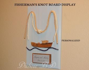"Fisherman's knot Wedding Ceremony, Beach wedding, Fisherman's knot display, Knot wedding ceremony, two cords, Wedding 3/8"" cords"