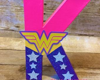 Girl Superhero, Superhero Birthday, Super Hero Props, Girl Superhero Letters, Superhero Party Supplies, Superhero Party Decor