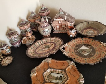VINTAGE DANNA CILLAN Cabin China Collection! Must See!!