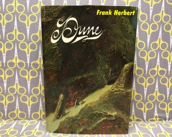 Dune by Frank Herbert Hardcover Book 1965 Chilton Book Club Edition vintage