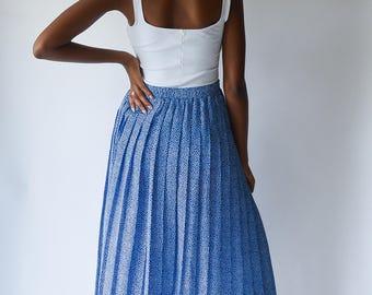 Vintage 90's Ditsy Polka Dot Skirt