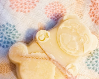 The natural size Teddy bear SOAP