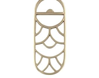 Brass Bottle Opener Art Deco Bottle Opener Gold Bottle Opener